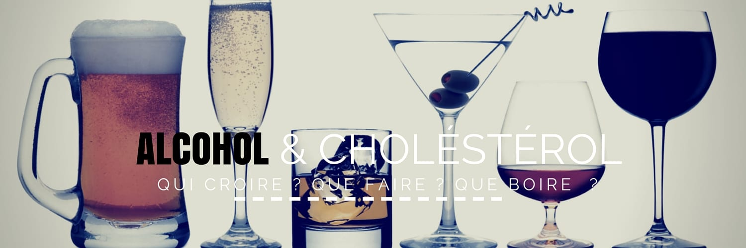 alcohol et cholesterol