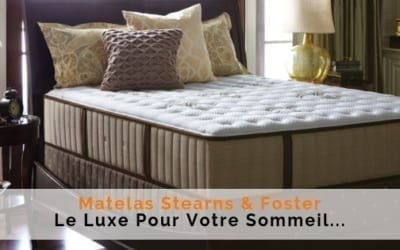 matelas de luxe stearns and foster 400x250